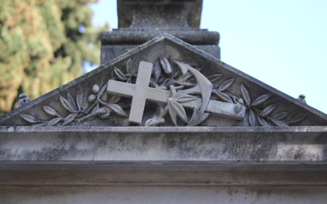 Simbología funeraria: El Ancla